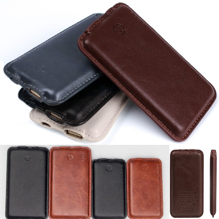 Leather power bank