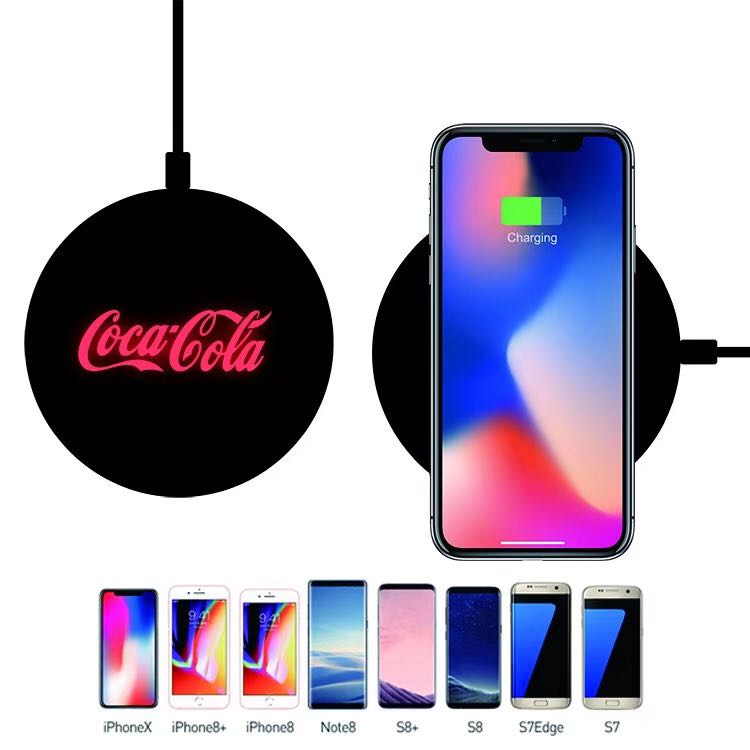 luminous Logo Wireless charger